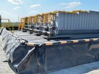 surface mounted containment dike