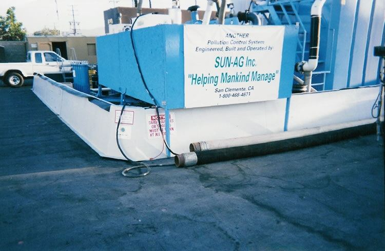 poly dike secondary tank containment