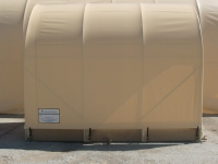 side panel of envirohut containment system