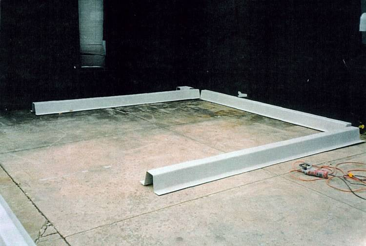 Concrete Containment Systems : Poly curb modular spill containment image gallery