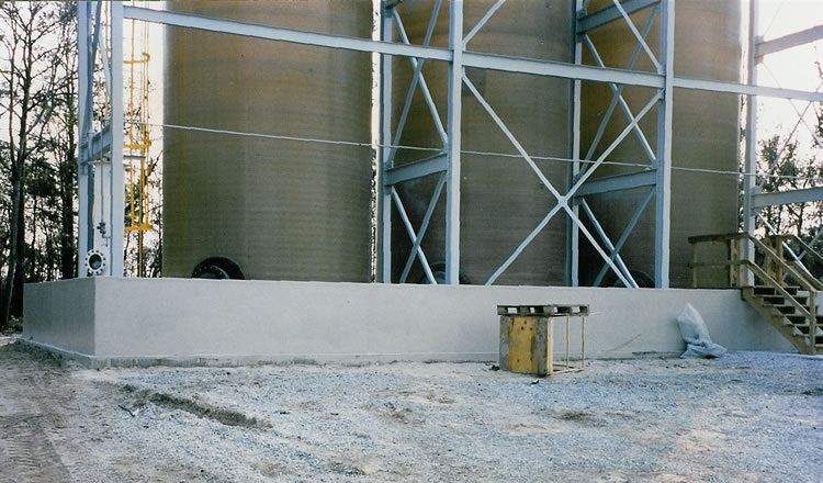 Concrete Containment Systems : Poly dike secondary containment wall image gallery