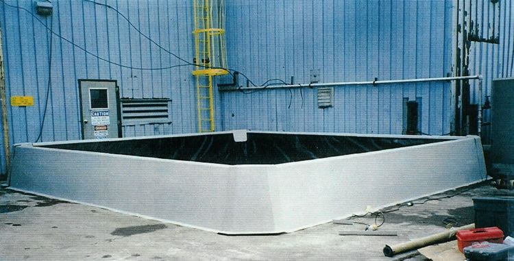 Poly Dike Secondary Containment Wall Image Gallery