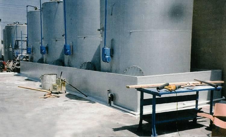 poly tub containment tub holding tank