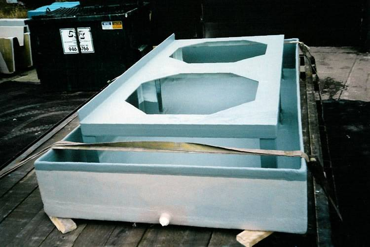 Poly Tub with optional supports