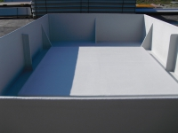 integrated floor and walls Poly Tub