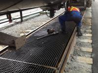 railcar drop pans