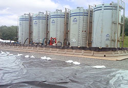 poly dike secondary containment systems