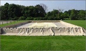 bladder dike modular containment system