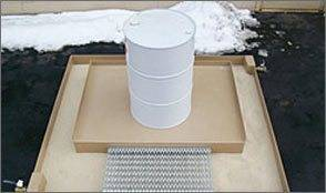 Polystar Grease Pad grease containment system