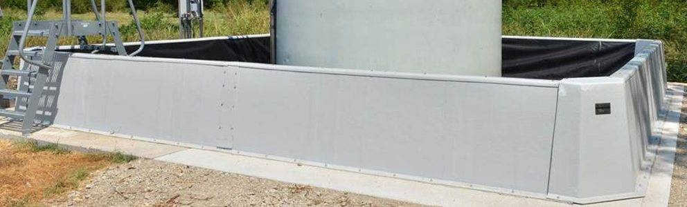 Concrete Dike Wall Design : Spill containment dike secondary walls