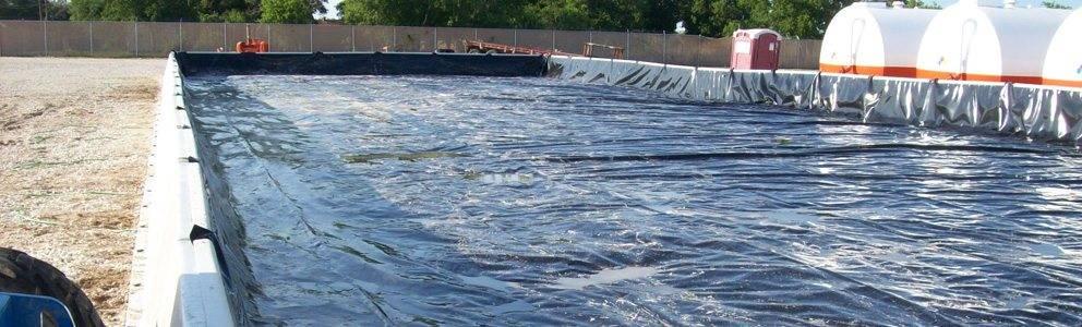 hazardous spill prevention pad