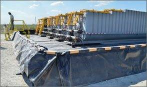 Poly Dike Containment System